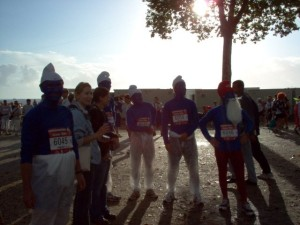 The Running Smurfs