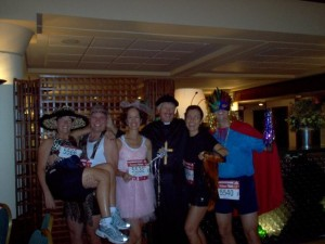 What a crazy bunch of runners!