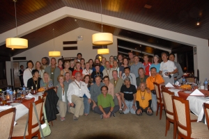 Inca Trail Running Group Photo from Awards Ceremony