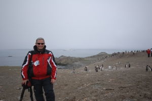 David with Penguins on Ho Island February 24 2007 (32)